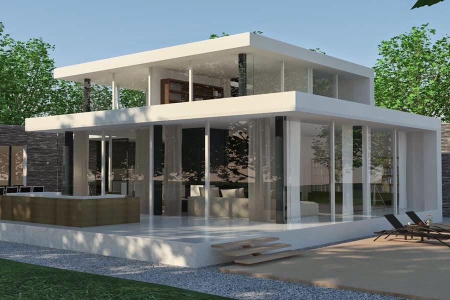 wooow ini gambar rumah minimalis satu lantai cantik