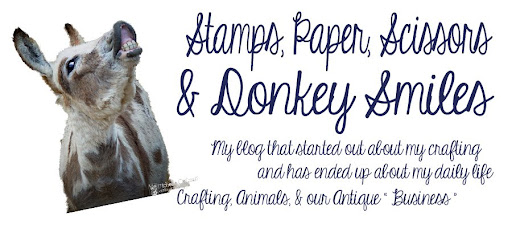 Stamps, Paper, Scissors and Donkey Smiles