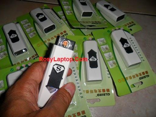Korek Api USB Baterai Cas Tanpa Gas