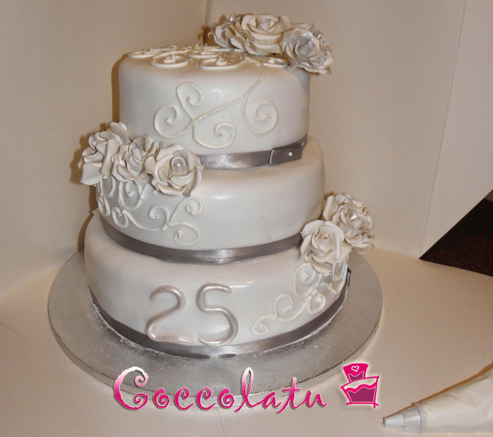 Coccolatu for Decorazione torte per 50 anni di matrimonio
