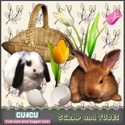 Easter Elements (CU4CU) .Easter+Elements_Preview_Scrap+and+Tubes