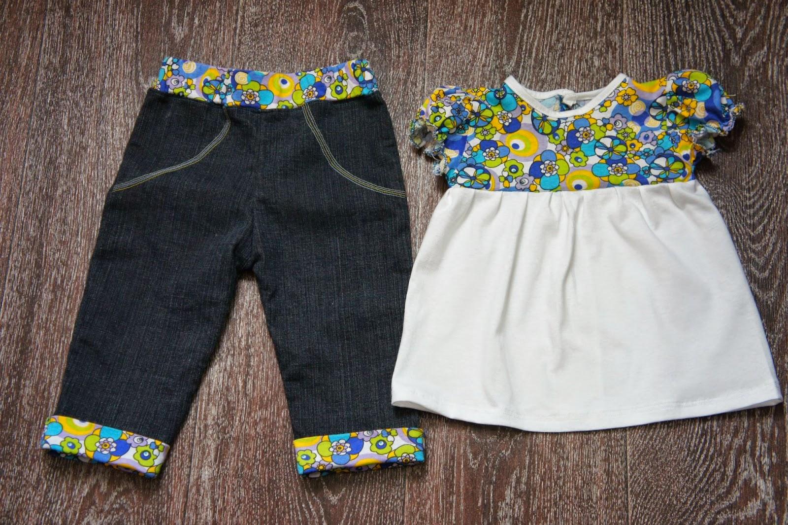 комплект на лето девочке 1 год