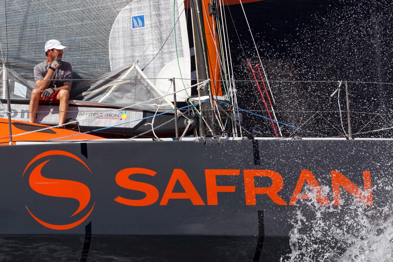 Dernière course avec Safran pour Marc Guillemot.