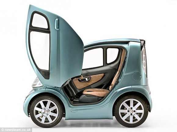 أصغر سيارة في العالم بعرض متر واحد و طول متر و نصف
