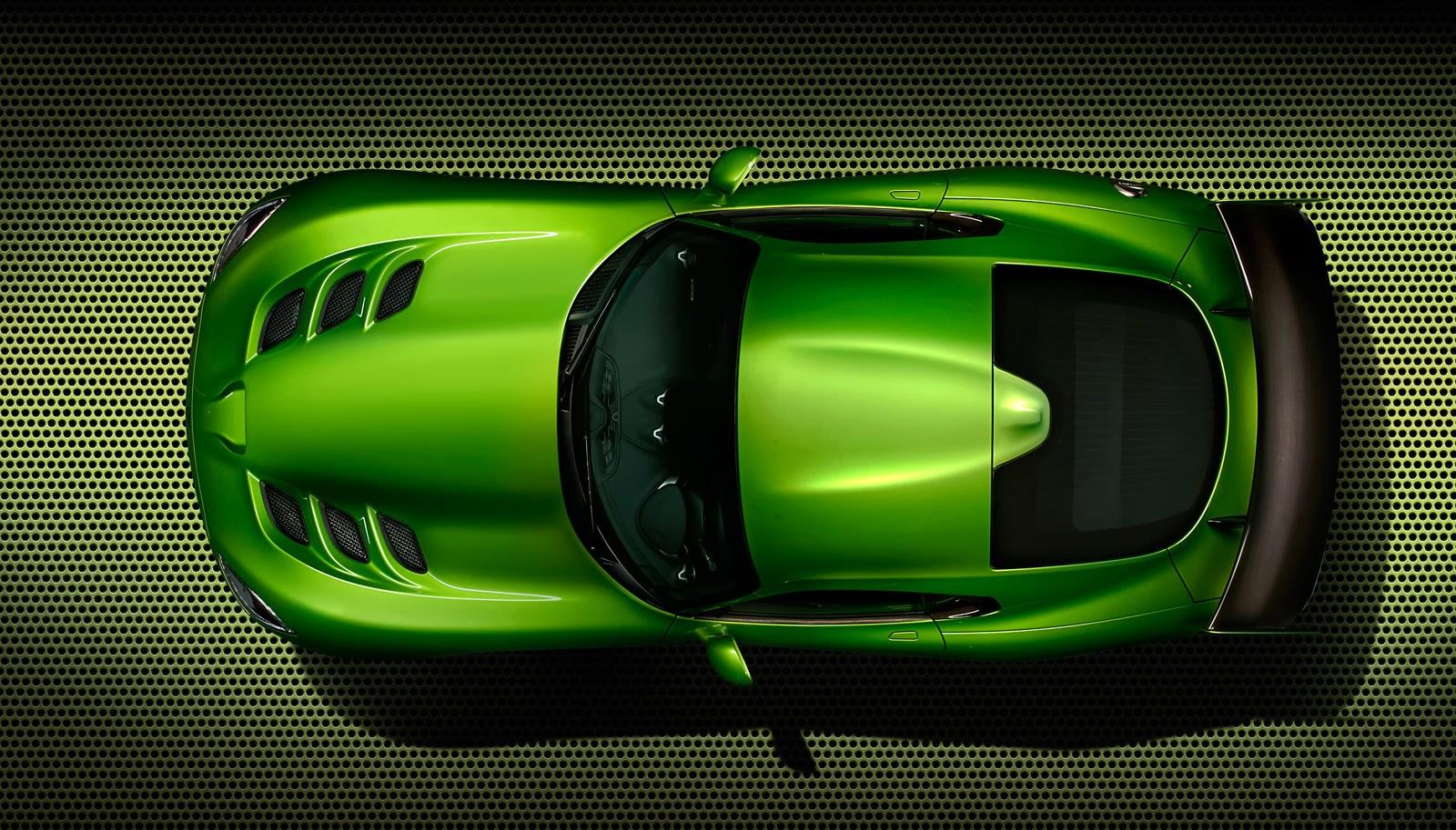 "2014 SRT Viper ""Stryker Green"""
