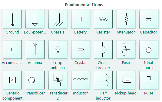 Basic Electrical Symbols. | Electrical Engineering Blog