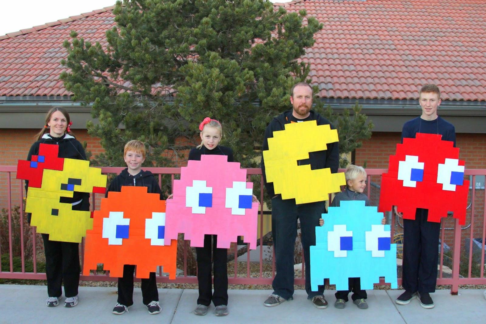 sc 1 st  Liu0027l Bucku0027s Creations & Liu0027l Bucku0027s Creations: Homemade Pac-Man Halloween Costumes