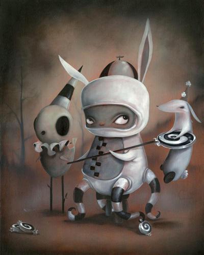 Kathie Olivas benny painting