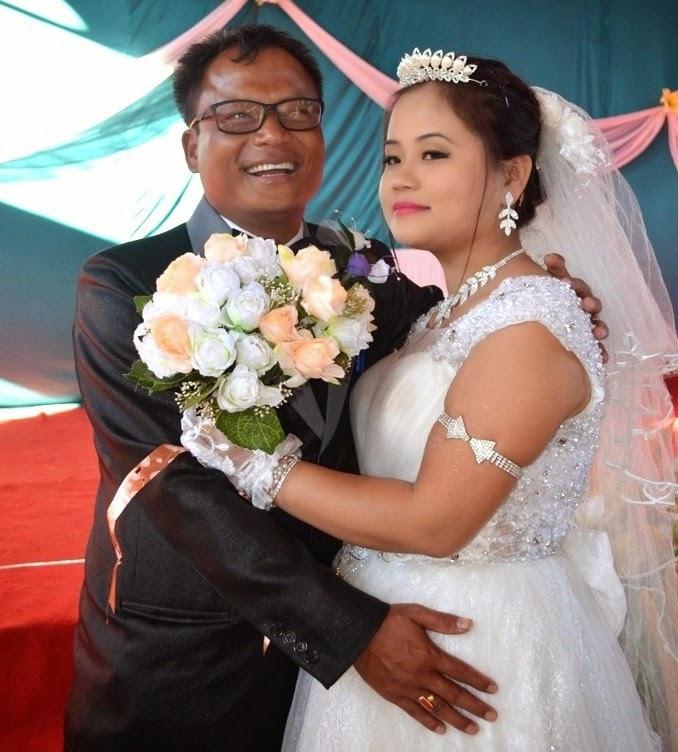 Gin Gangte weds Juliet Gangte
