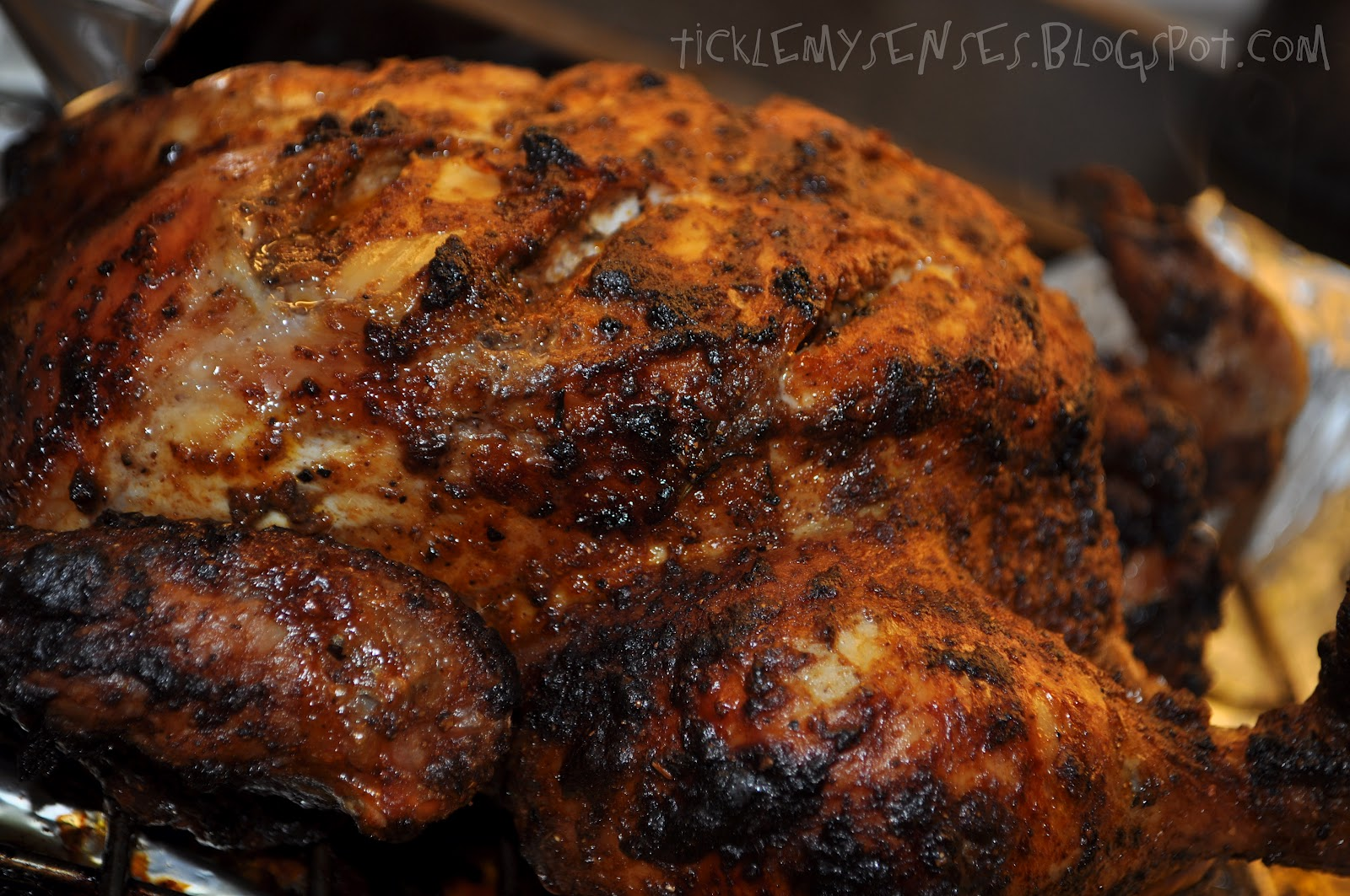 Tickle My Senses: Jamaican Grilled Jerk Chicken