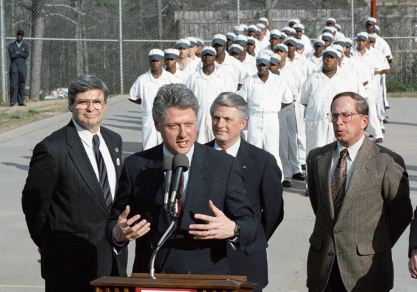 Dog-Whistle Politics :Clinton's Anti-Crime Bill 1996