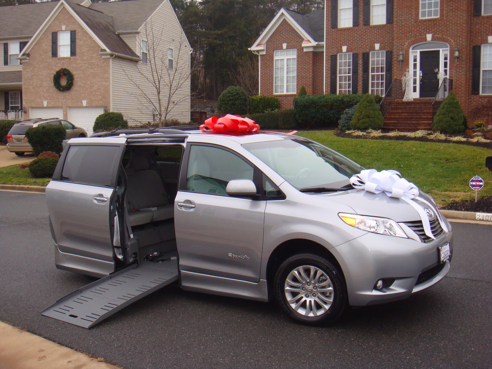 The diviney s new toyota sienna