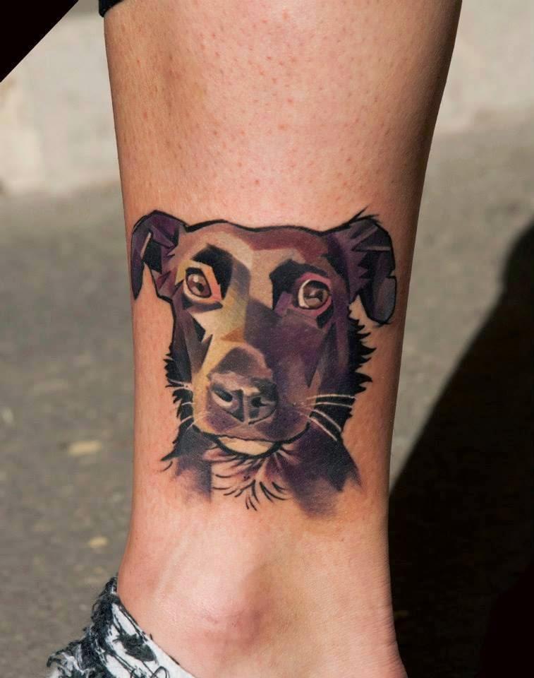 Tatuaje de perro, http://distopiamod.blogspot.com