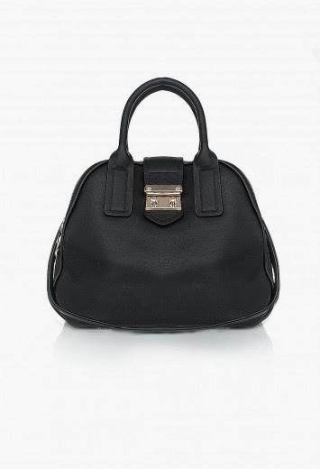 Missguided Niah Metallic Detail Faux Leather Handbag