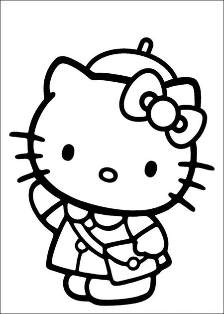 33 Hello Kitty Picture Pages To Print And Color Gtgt Disney