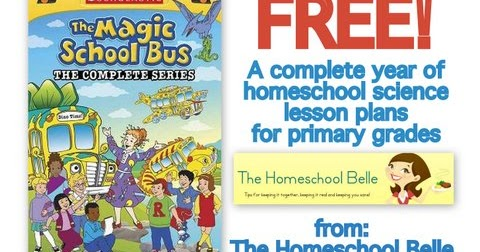 The Homeschool Belle: Free Science Plans Using Magic School Bus DVDs