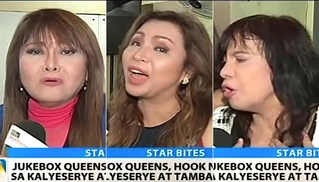 Philippine Jukebox Queen Imelda Papin, Claire Dela Fuente and Eva Eugenio, Hooked on AlDub
