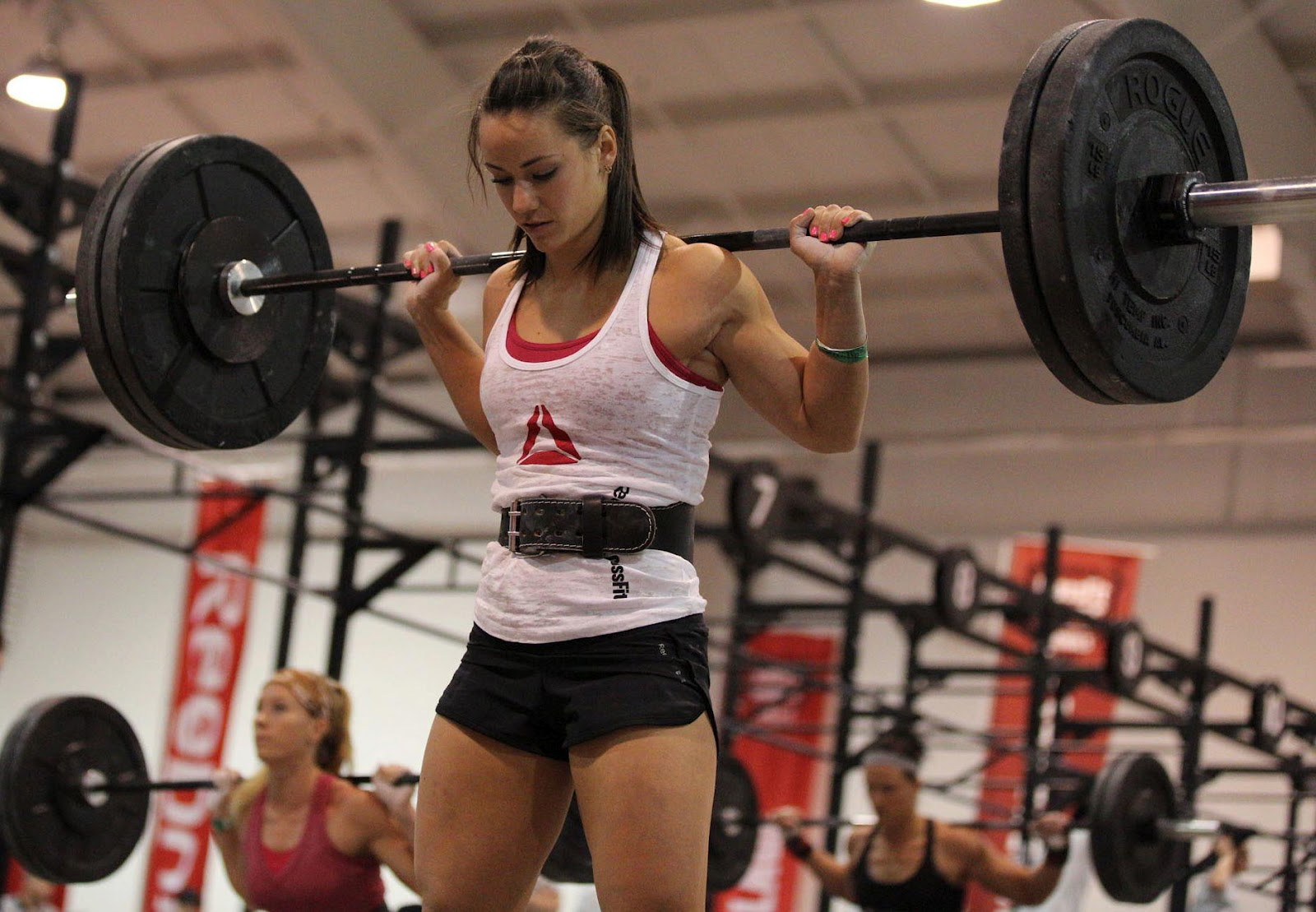 Camille Leblanc-Bazinet and the Barbell