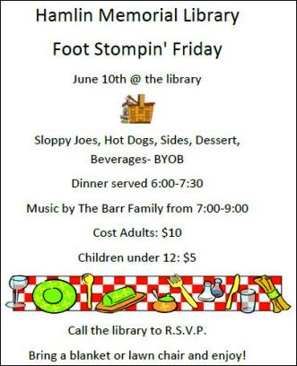 6-10 Foot Stompin' Friday