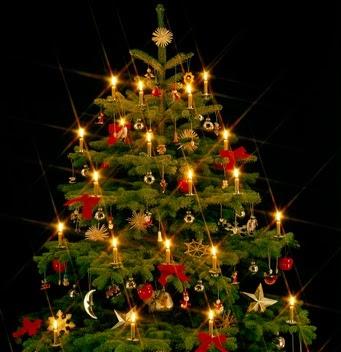 L 39 albero di natale non un simbolo pagano - Contorno di un albero di natale ...