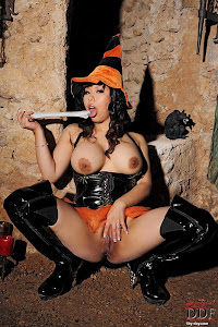 Busty Asian Witch 10