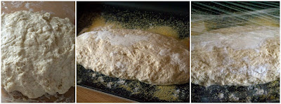 Pane ciabatta con lievito madre i passaggi