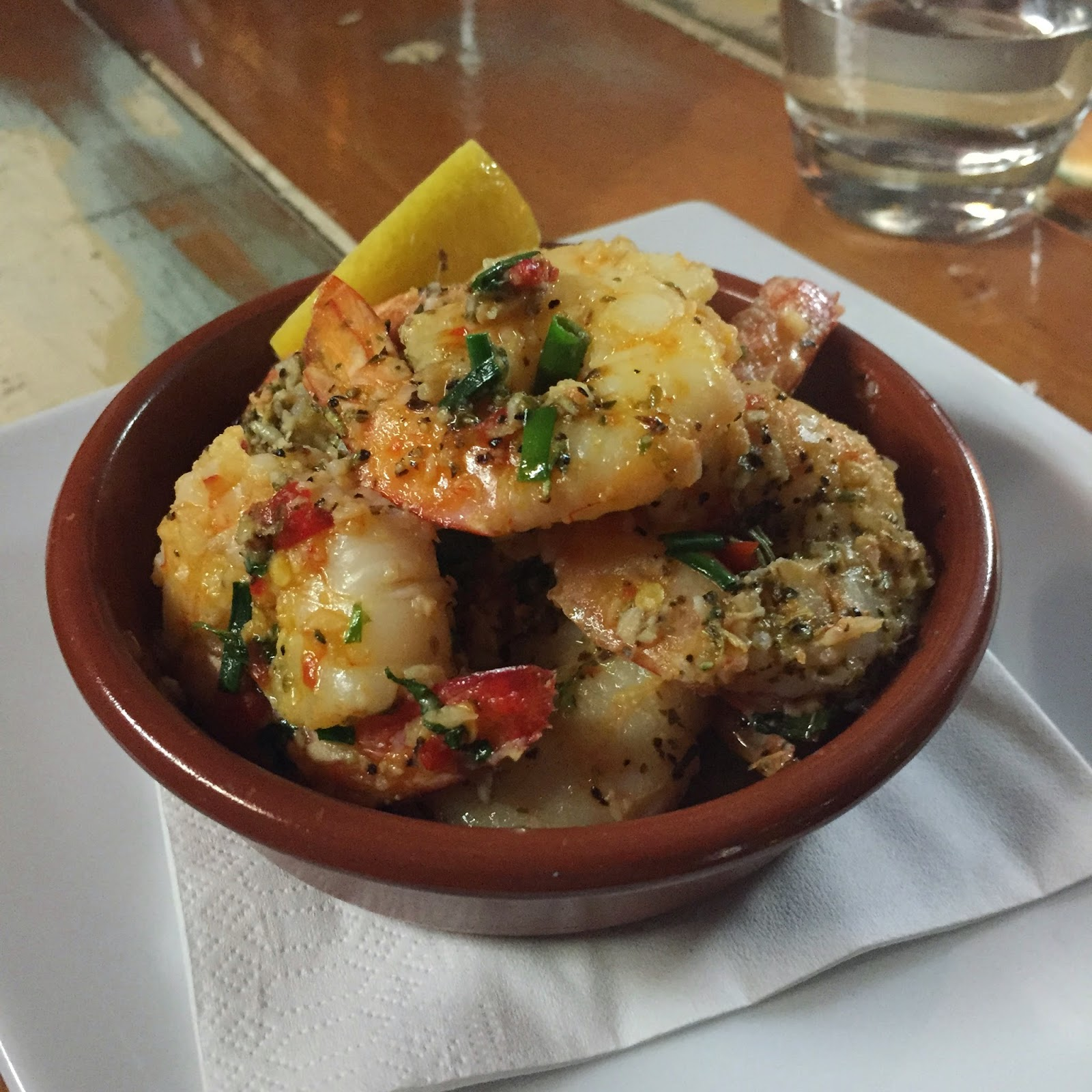 Chilli Prawns London Porterhouse Cassie Cakes
