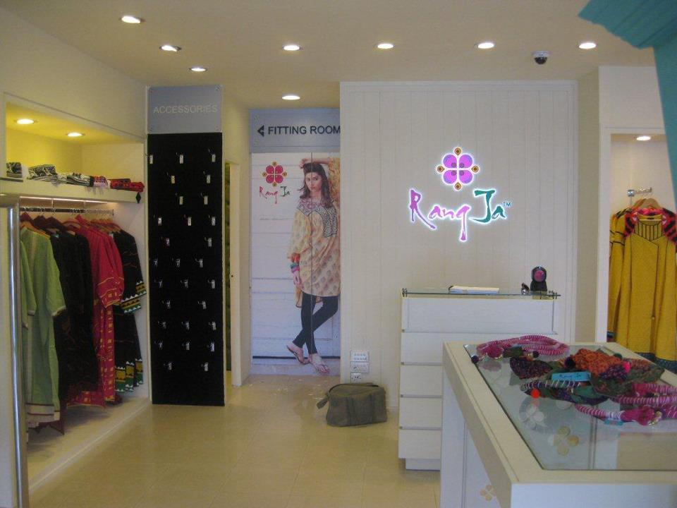 Rang ja clothing now in Lahore at fortress stadium