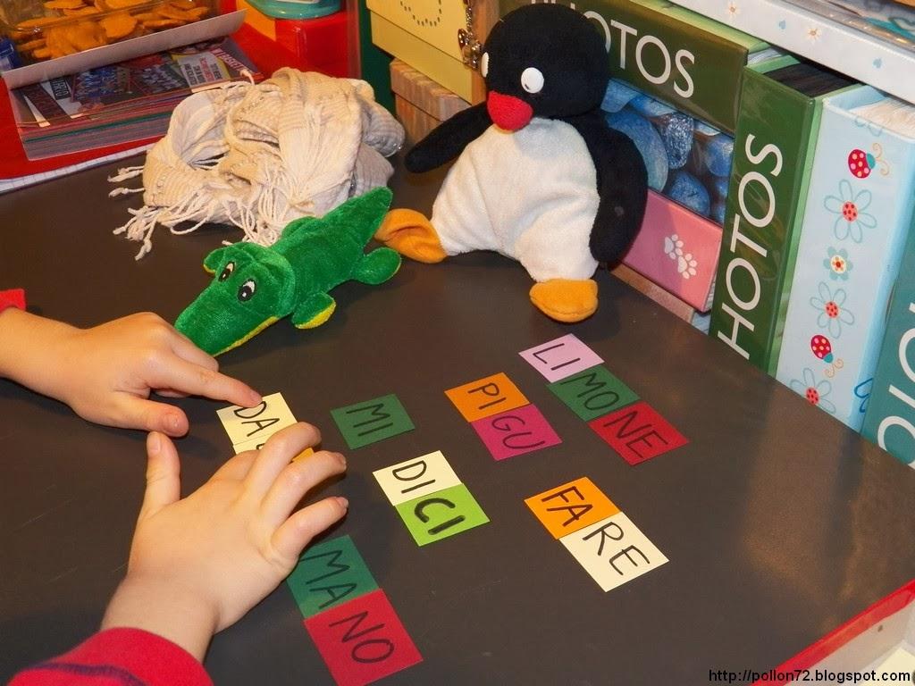 Giocare con lettere e sillabe