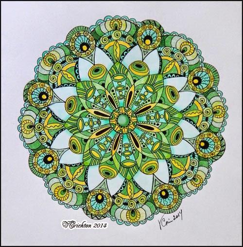 Зендала (мандала) zendala mandala