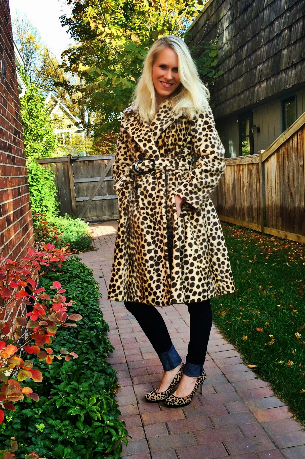 The Fall Edit: Outerwear- Vintage 1960's Cheetah Print Trench