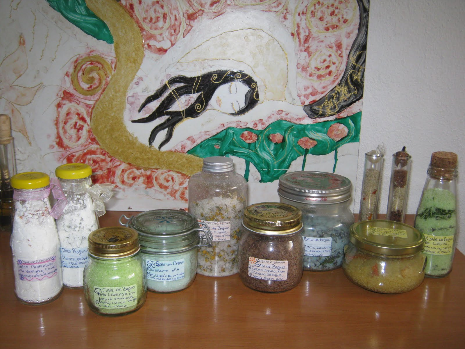 Erbe, frutti e spezie: Come fare i sali da bagno