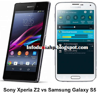 Xperia Z2 Vs Galaxy S5