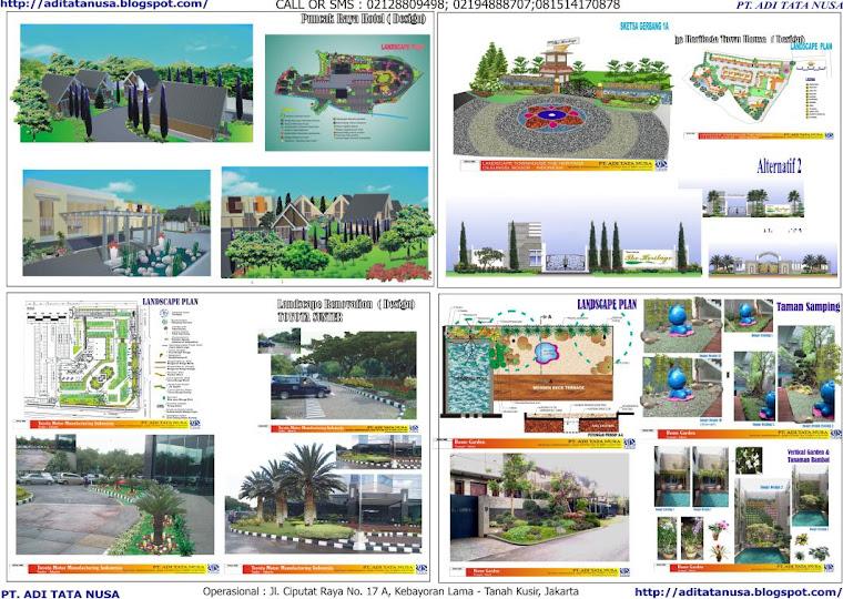 LANDSCAPING SERVICES - PT. ADI TATA NUSA: Gate Landscape Design - 2