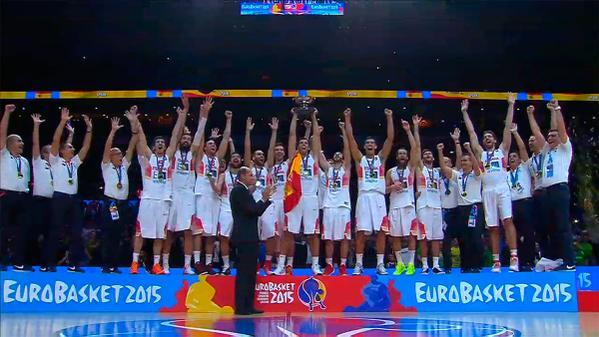 BALONCESTO (EuroBasket 2015) - España da un repaso a Lituania para colgarse su tercer oro europeo