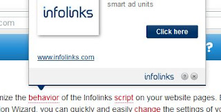 infolinks in text ad