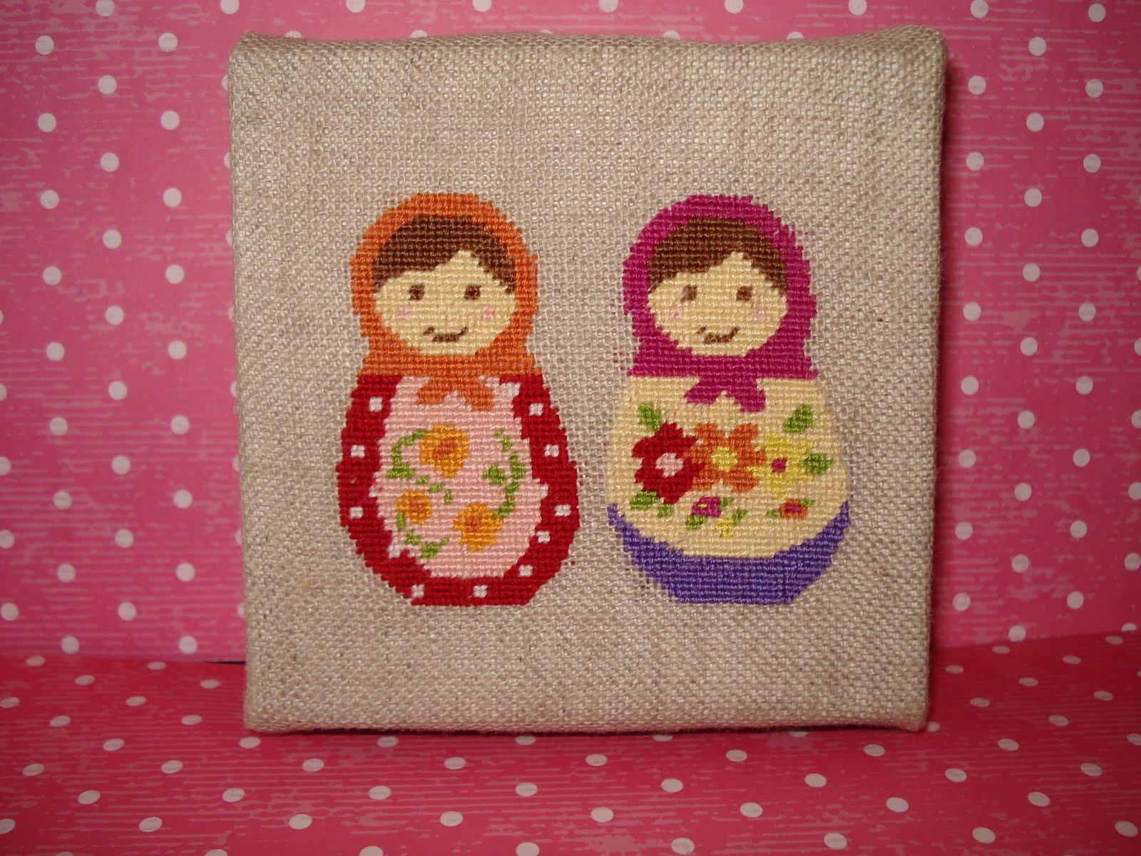 Sneak Peek New Russian Doll Cross Stitch Pattern