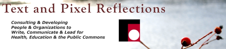 Text and Pixel Reflections