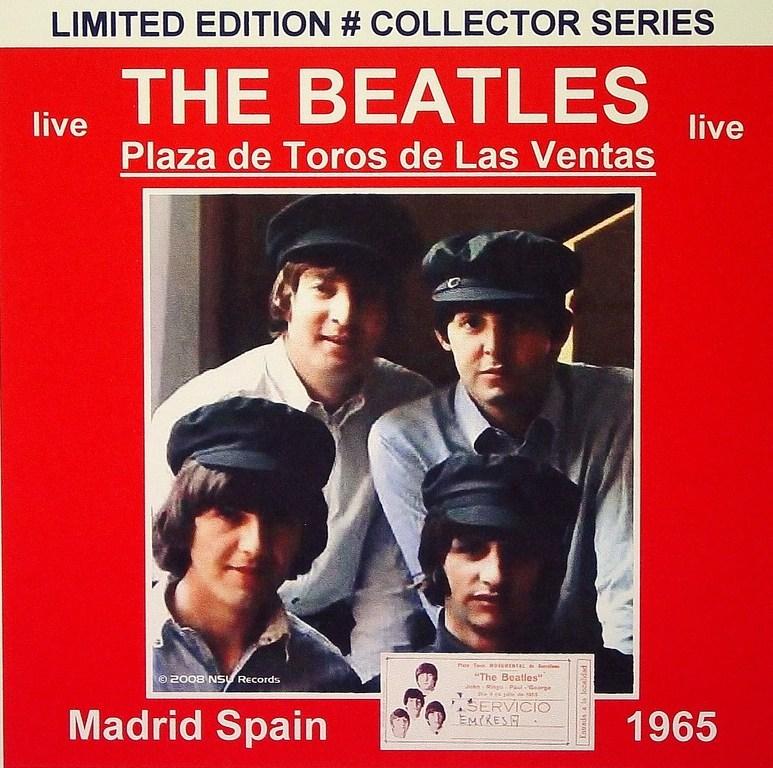 LOS LUSOS DENUNCIAN QUE ES FALSO EL  DISCO DE LOS BEATLES EN LA PLAZA DE TOROS DE MADRID