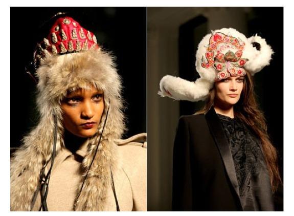 Вязание шапки хулиганки 9