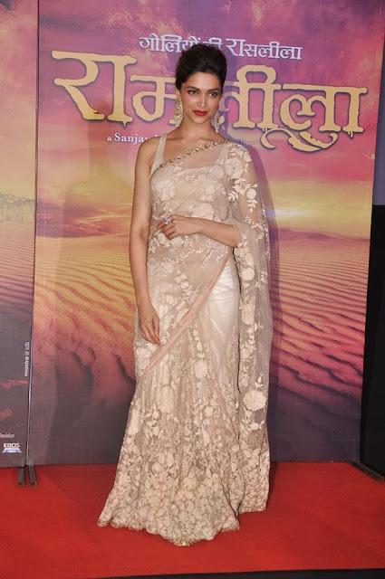 Deepika Padukone in Designer Saree