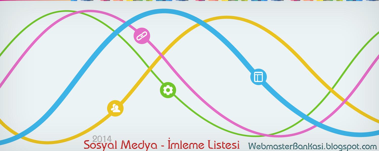 Sosyal Medya ve İmleme Listesi - Backlink
