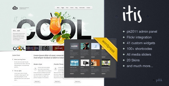 Wordpress Itis Theme Free Download by ThemeForest.