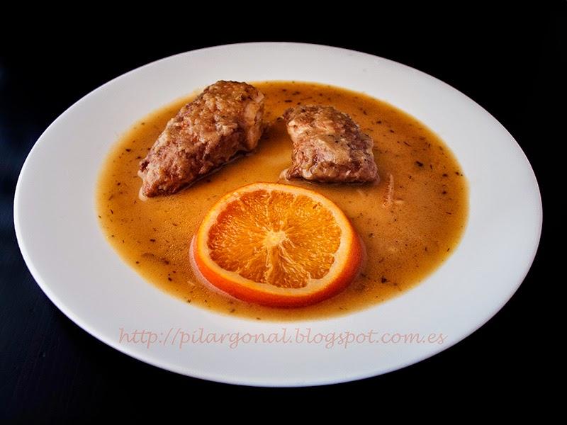 Recetando solomillo de pavo a la naranja - Pavo ala naranja al horno ...
