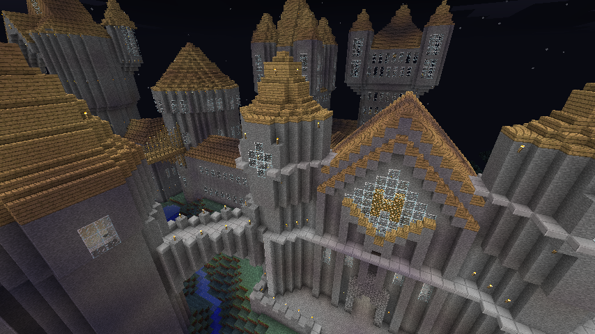 Hogwarts harry potter 1 3 2 map minecraft 1 3 2