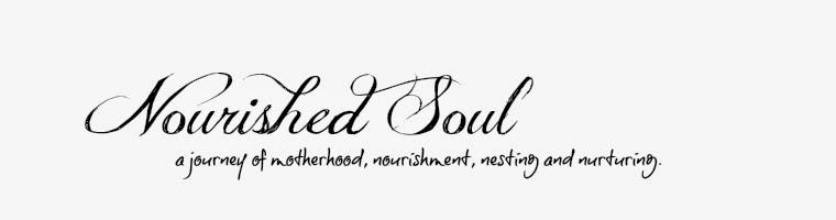 NOURISHING THE SOUL
