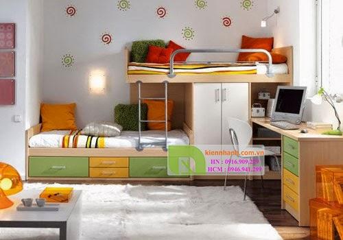 giường tầng cho bé trai