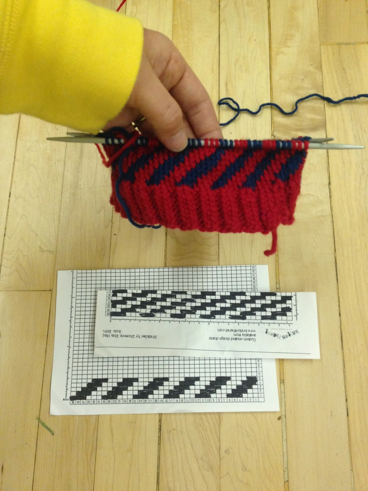 graph paper for knitting