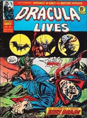 Marvel UK, Dracula Lives #34