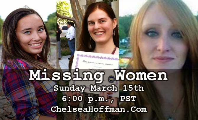 Coming up on Sunday: So many missing women!